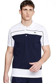 Lacoste Super Light Color Block Polo - Lyst