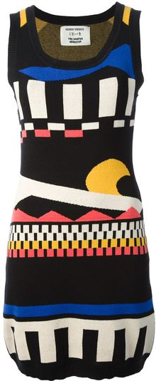 Henrik Vibskov Patterned Tank Dress - Lyst