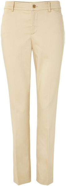 Lauren by Ralph Lauren Slim Ankle Length Trouser - Lyst