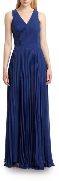 Sachin & Babi Sevilla Pleated Maxi Dress - Lyst