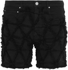 Isabel Marant Gustave Distressed Stretchdenim Shorts - Lyst