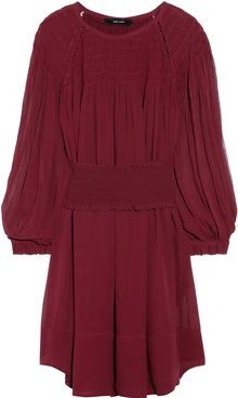 Isabel Marant Dahut Silk Chiffon Dress - Lyst