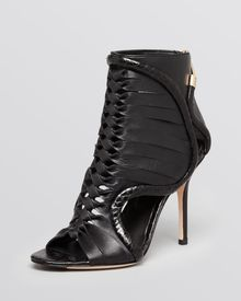Rachel Roy Open Toe Booties Leigh High Heel - Lyst