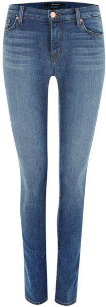J Brand 811 Midrise Skinny Jeans in New Dawn - Lyst
