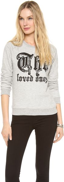 Zoe Karssen The Loved Ones Long Sleeve Top - Lyst