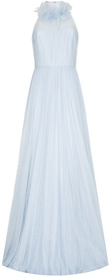 Marchesa Petal Neck Gown - Lyst