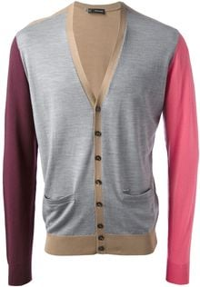 DSquared2 Block Colour Cardigan - Lyst