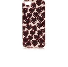 Topshop Tutti Heart Iphone 5 Shell - Lyst