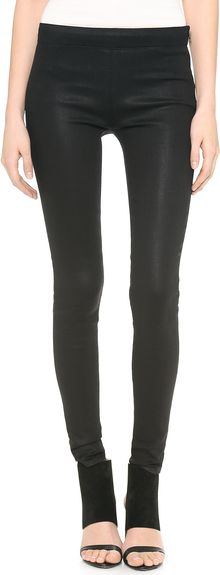 J Brand Side Zip Legging Jeans - Lyst