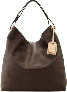 Reed Krakoff Rdk Leather Hobo Bag Bark - Lyst