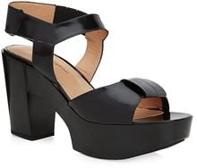 Robert Clergerie Crissac Leather Sandal - Lyst