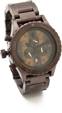 Nixon The 4020 Chrono Watch - Lyst