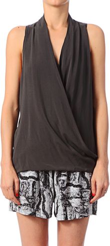 American Vintage Sleeveless Top  - Lyst