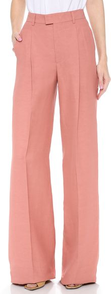 DSquared2 High Waist Wide Pants - Lyst