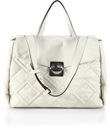 Marc By Marc Jacobs Circle in Square Quilted Satchel - Lyst