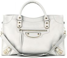 Balenciaga Classic Metallic Edge City Leather Tote - Lyst