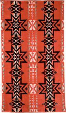 Pendleton, The Portland Collection Plains Star Oversized Jacquard Towel - Lyst