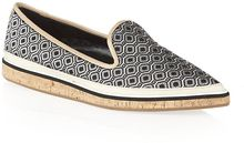 Nicholas Kirkwood Printed Point Toe Slipper - Lyst