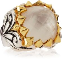 Stephen Webster Superstud Baroque Motherofpearl Crystal Haze Ring - Lyst