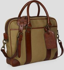 Ralph Lauren Polo Canvas Attache - Lyst
