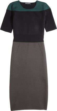 Narciso Rodriguez Colorblock Cutout Dress - Lyst