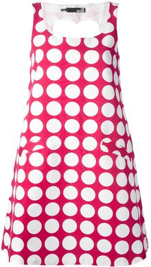 Love Moschino Polka Dot Dress - Lyst