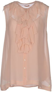 John Galliano Sleeveless Shirt - Lyst