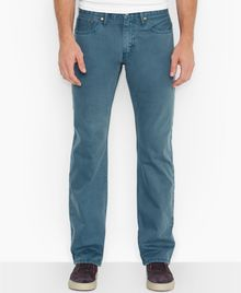 Levi's 514 Colonial Blue Straight Fit Jeans - Lyst