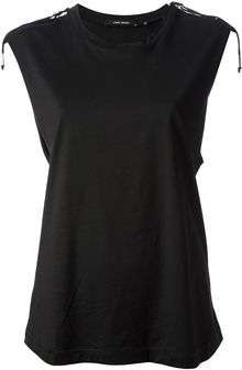 Isabel Marant Loose Fit Tank Top - Lyst