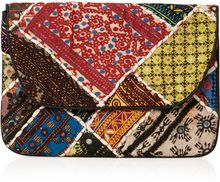 Topshop Patchwork Clutch Bag - Lyst