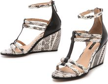 Rachel Zoe Nancy Strappy Wedge Sandals - Lyst