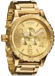 Nixon 5130 Chronograph Watch 51mm - Lyst