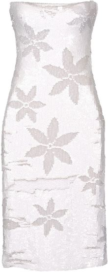 Blumarine Short Dress - Lyst