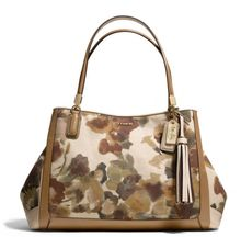 Coach Madison Cafe Carryall in Camo Print Fabric - Lyst