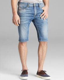 Diesel Thashort Denim Shorts - Lyst