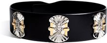 Emilio Pucci Leather Embellished Belt - Lyst