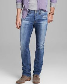 Hudson Jeans Byron Straight Fit in Melt Into The Sea - Lyst