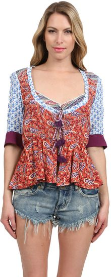 Tigerlily Indienne Top - Lyst
