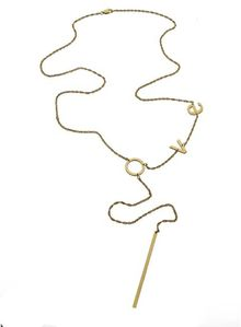Jennifer Zeuner Rebekka Bar Lariat - Lyst