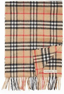 Burberry London Icon Cashmere Check Muffler - Lyst