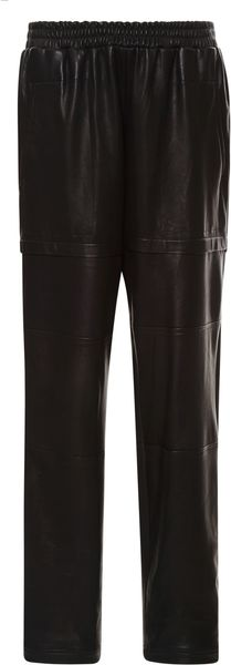 Sea Leather Faux Cargo Pants - Lyst