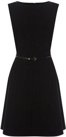 Oasis Ella Seamed Skater Dress - Lyst