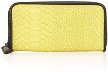 Topshop Snake Zip Around Purse - Lyst