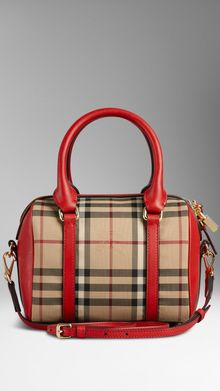 Burberry Small Horseferry Check Bowling Bag - Lyst