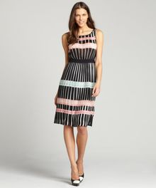 BCBGMAXAZRIA Bright Nectar Shelby Woven City Dress - Lyst