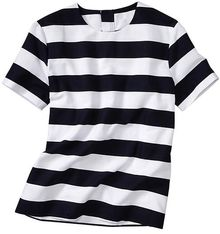 Gap Stripe Dobby Top - Lyst