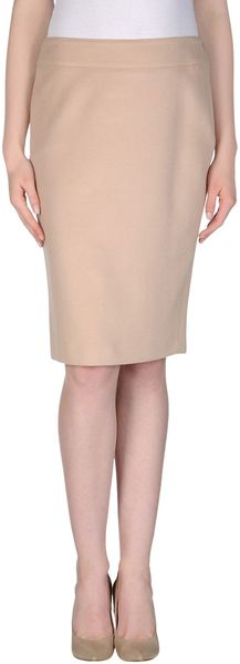 Blumarine Knee Length Skirt - Lyst