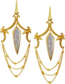 Stephen Webster Large Crystal Haze Chandelier Earrings - Lyst