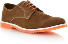 Dune Bailey Lace Up Colour Pop Unlined Desert Shoes - Lyst