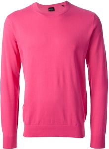PS by Paul Smith Crew Neck Sweater - Lyst